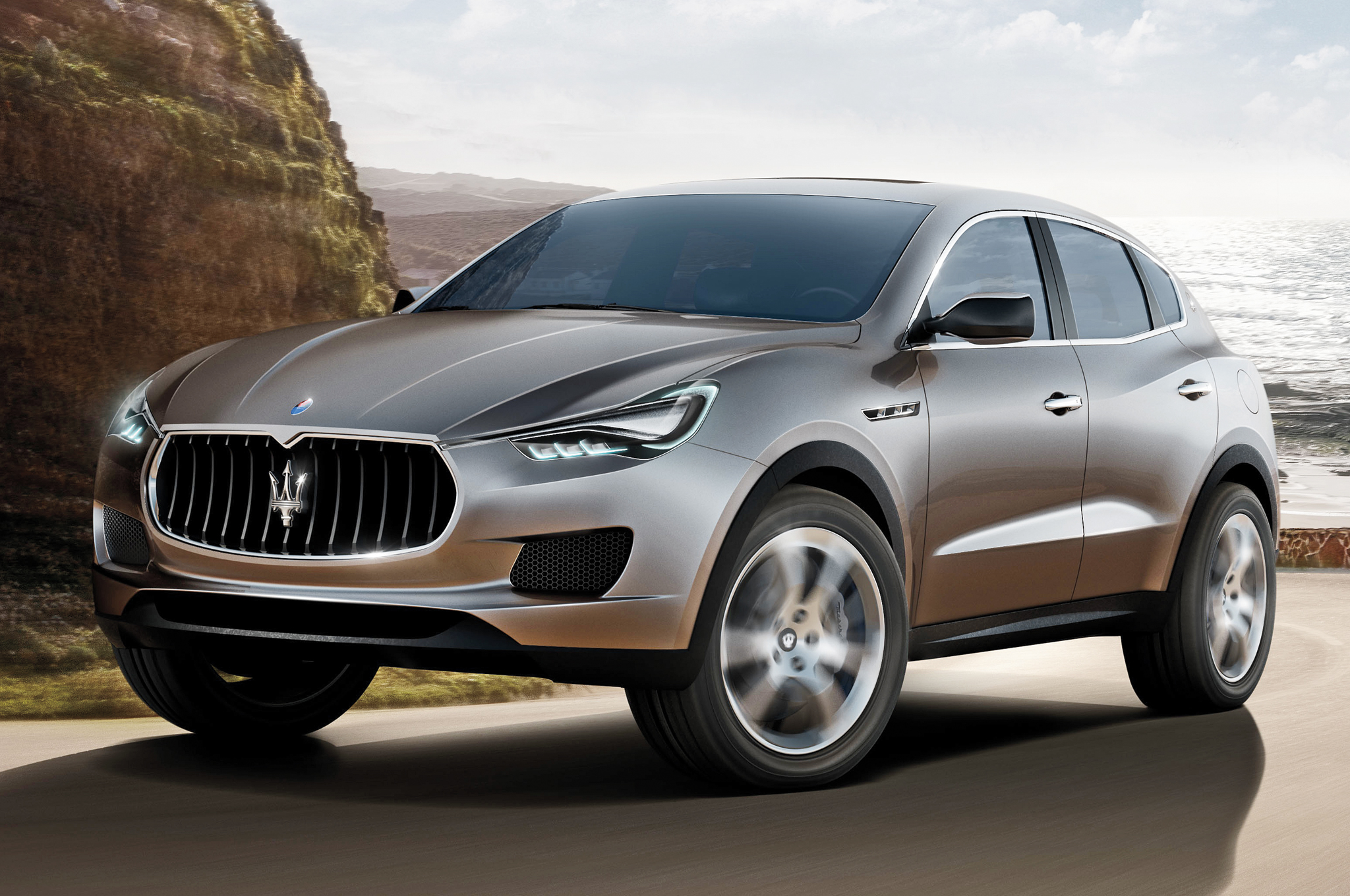 Maserati Hanging Profit Hopes On Levante