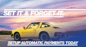 Automatic monthly payments for classic cars